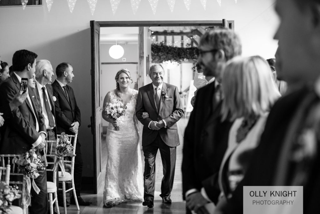 Pete & Vicki's Wedding at Winters Barns in Canterbury