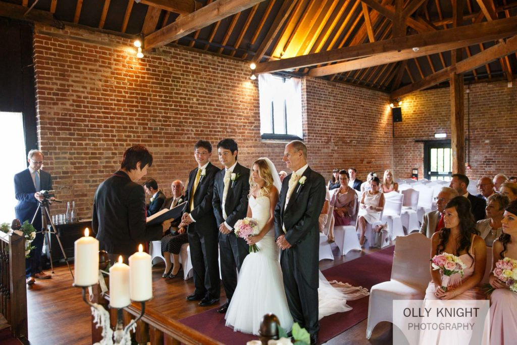 Tim & Zoe's Wedding at Cooling Castle Barn