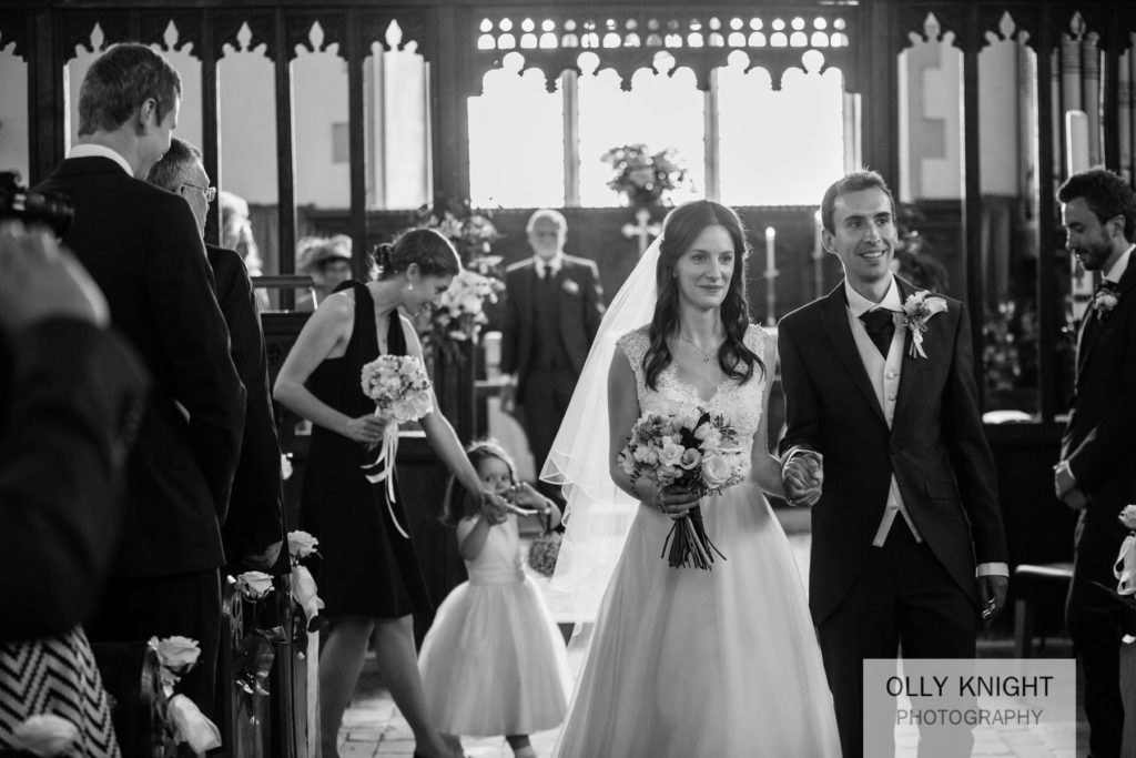 Pete & Emma's Wedding at St John the Baptist in Small Hythe