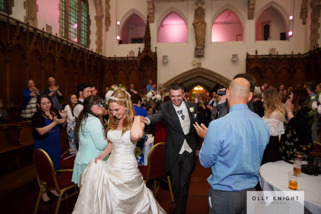 Chris & Charlie's Wedding at St Augustine's in Westgate