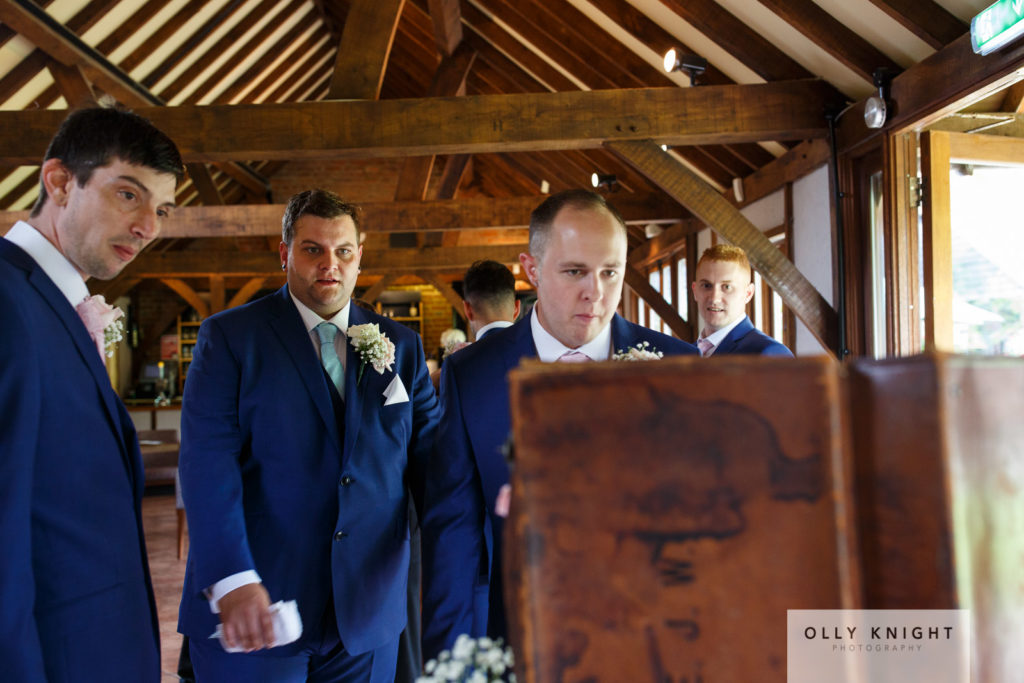 Josh & George's Wedding at Cooling Castle Barn