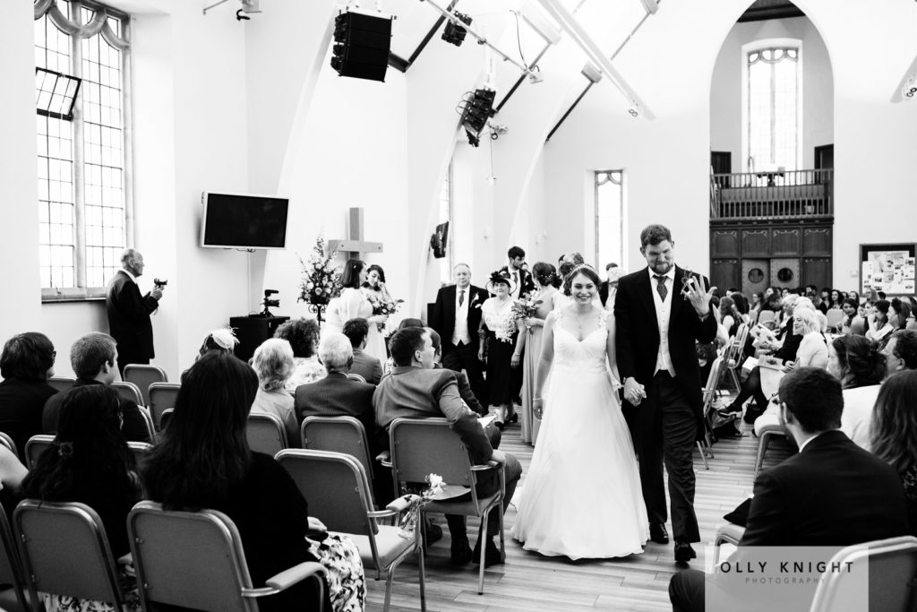 Tom & Jen's Wedding at St Mary Bredin in Canterbury