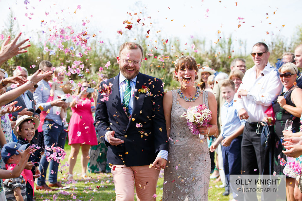 Henry & Sarah's Wedding at Nethergong Nurseries in Kent