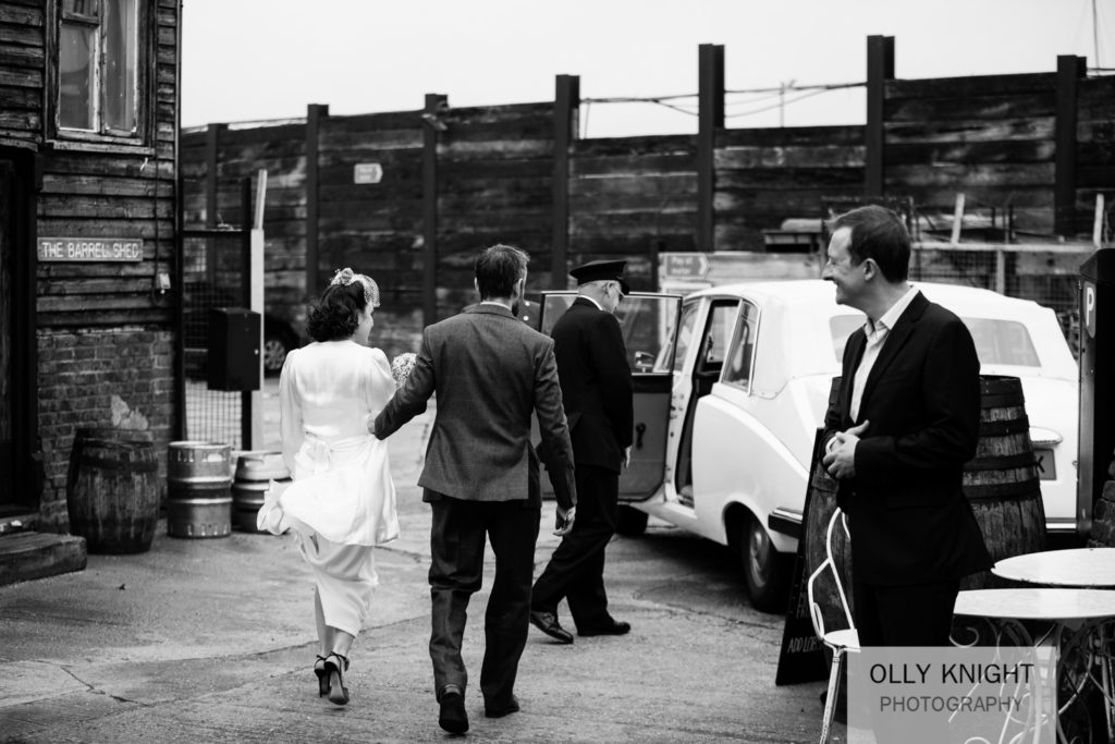 Andy & Louise's Wedding at East Quay Lobster Shack in Whitstable