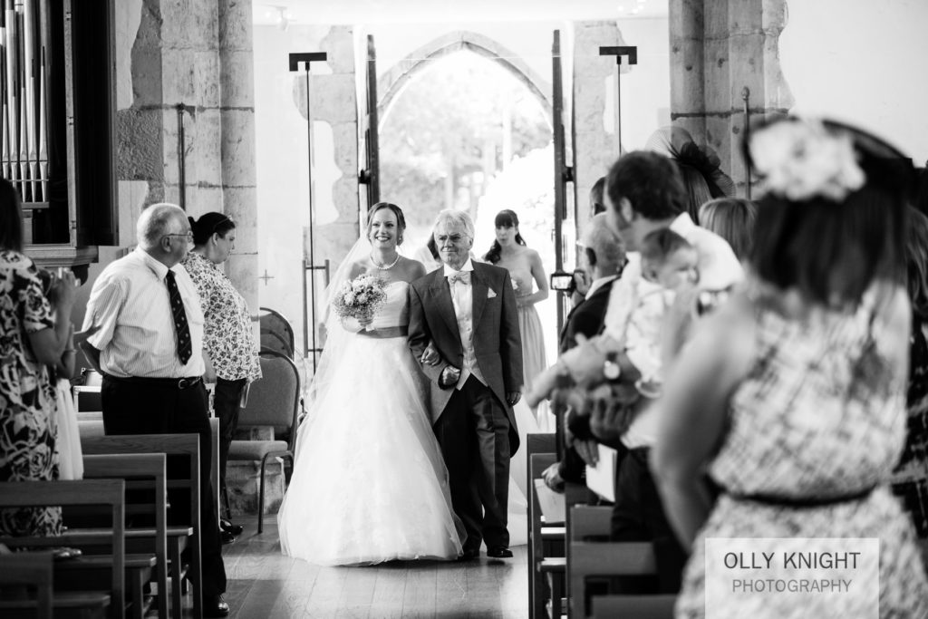 Chris & Emma's Wedding at St Michael and All Angels Church in Ki