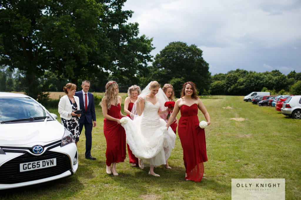 Jon & Lily's Woodland Wedding at Whetsted Farm in Tonbridge