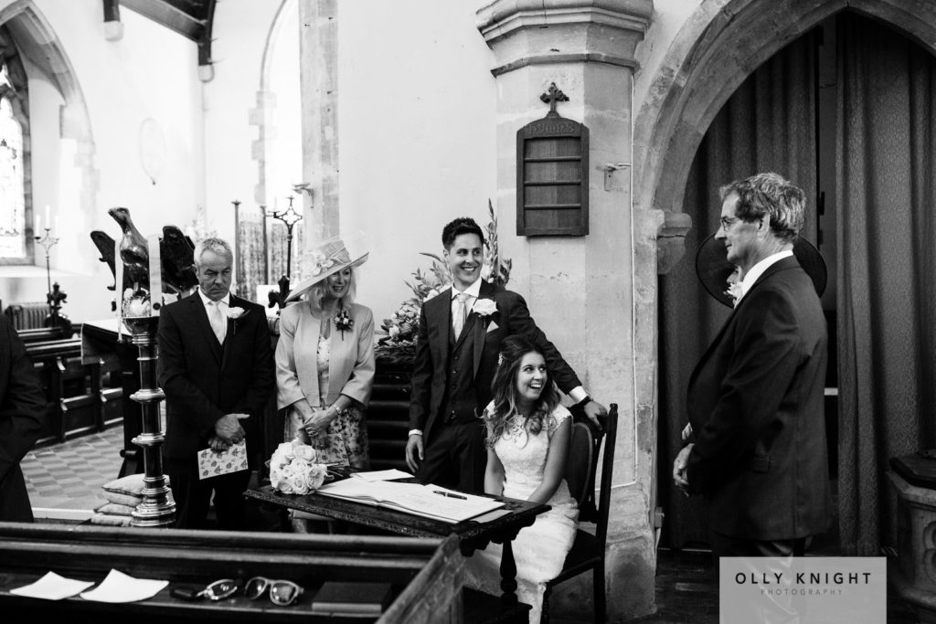Alex & Charlotte's Wedding at All Saints Church in Old Heathfiel