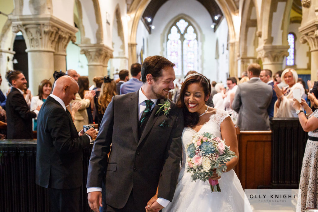 Dom & Tash's Wedding at St Peters Church in Bridge